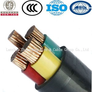 4 core PVC Insulated PVC Sheathed Power