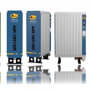 new Modular Units desiccant air dryer, only 6% air purge required