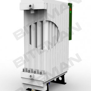 The structure of Biteman modular air dryer with replaceable desiccant cartridges