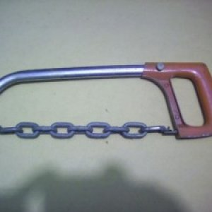 Hacksaw chainsaw parts